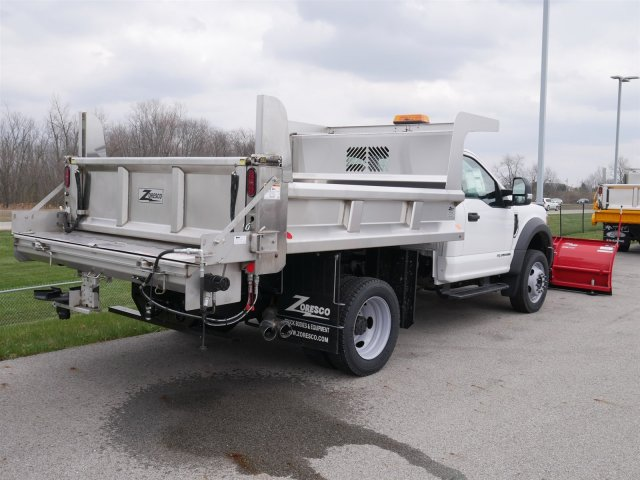 2018 F-550 Regular Cab DRW 4x4,  Rugby Dump Body #FTJ2415 - photo 6