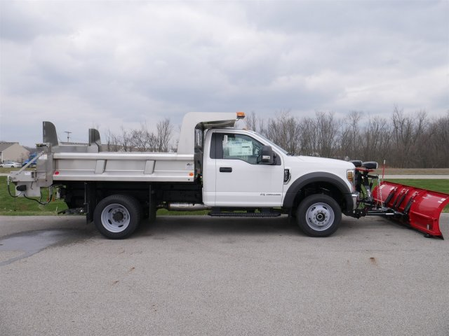 2018 F-550 Regular Cab DRW 4x4,  Rugby Dump Body #FTJ2415 - photo 7
