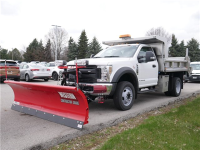 2018 F-550 Regular Cab DRW 4x4,  Rugby Z-Spec Dump Body #FTJ2415 - photo 1