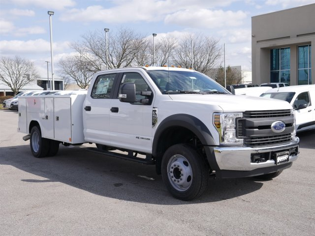 2018 F-550 Crew Cab DRW 4x2,  Reading Classic II Steel Service Body #FTJ2560 - photo 3