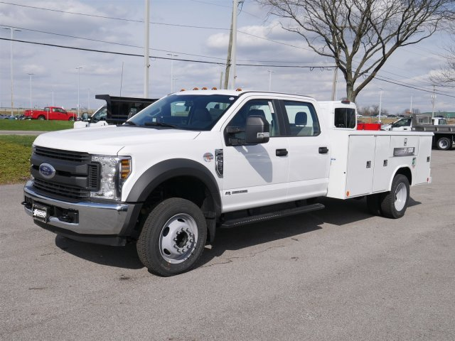 2018 F-550 Crew Cab DRW 4x2,  Reading Classic II Steel Service Body #FTJ2560 - photo 1