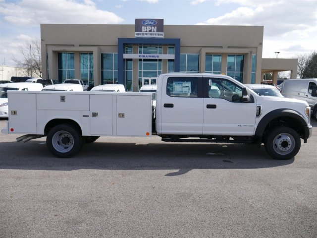 2018 F-550 Crew Cab DRW 4x2,  Reading Classic II Steel Service Body #FTJ2560 - photo 8