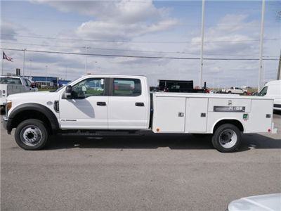 2018 F-550 Crew Cab DRW 4x2,  Reading Classic II Steel Service Body #FTJ2560 - photo 5