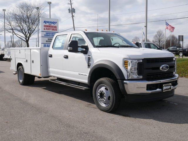 2018 F-550 Crew Cab DRW 4x4,  Reading Service Body #FTJ2561 - photo 3