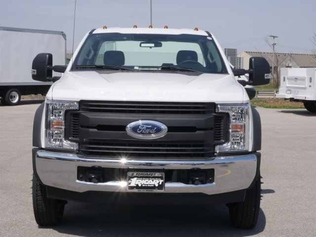 2018 F-550 Regular Cab DRW 4x2,  Reading Classic II Steel Service Body #FTJ2628 - photo 4