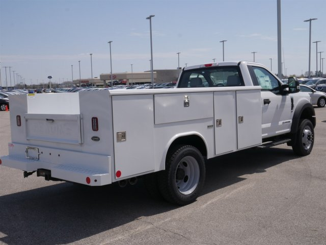 2018 F-550 Regular Cab DRW 4x2,  Reading Classic II Steel Service Body #FTJ2628 - photo 7
