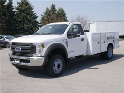 2018 F-550 Regular Cab DRW 4x2,  Reading Classic II Steel Service Body #FTJ2628 - photo 1