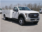 2018 F-550 Regular Cab DRW 4x2,  Reading Classic II Steel Service Body #FTJ2628 - photo 3