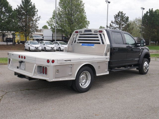 2018 F-550 Crew Cab DRW 4x4,  Hillsboro Platform Body #FTJ2878 - photo 7