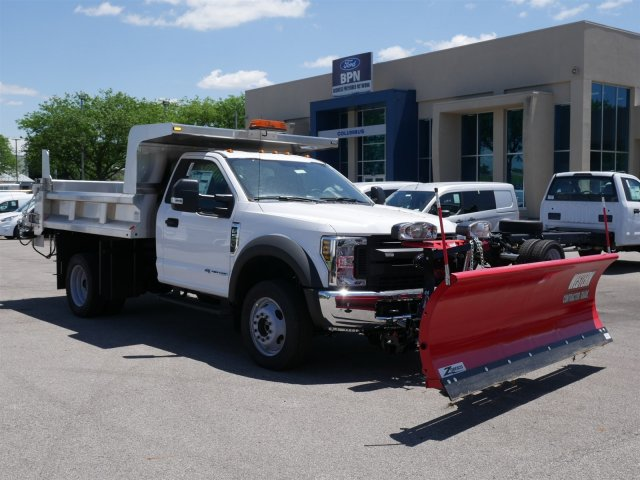 2018 F-550 Regular Cab DRW 4x4,  Rugby Dump Body #FTJ3085 - photo 3