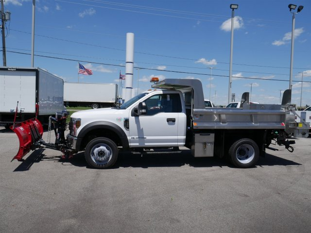2018 F-550 Regular Cab DRW 4x4,  Rugby Dump Body #FTJ3085 - photo 5
