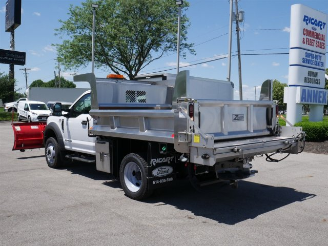 2018 F-550 Regular Cab DRW 4x4,  Rugby Dump Body #FTJ3085 - photo 2