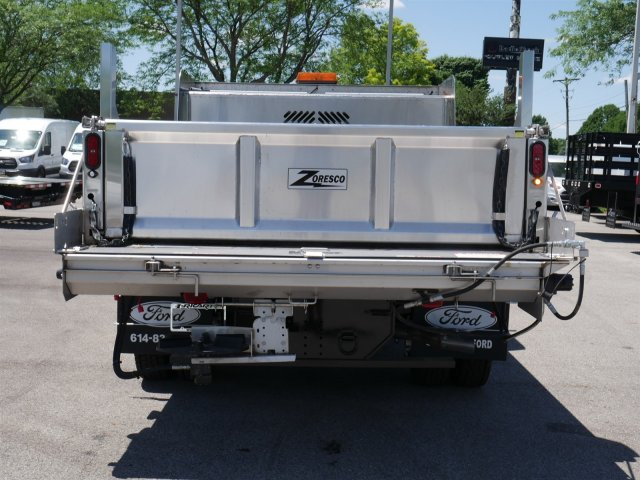 2018 F-550 Regular Cab DRW 4x4,  Rugby Dump Body #FTJ3085 - photo 6