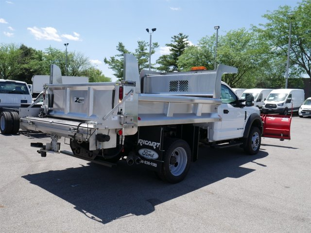 2018 F-550 Regular Cab DRW 4x4,  Rugby Dump Body #FTJ3085 - photo 7