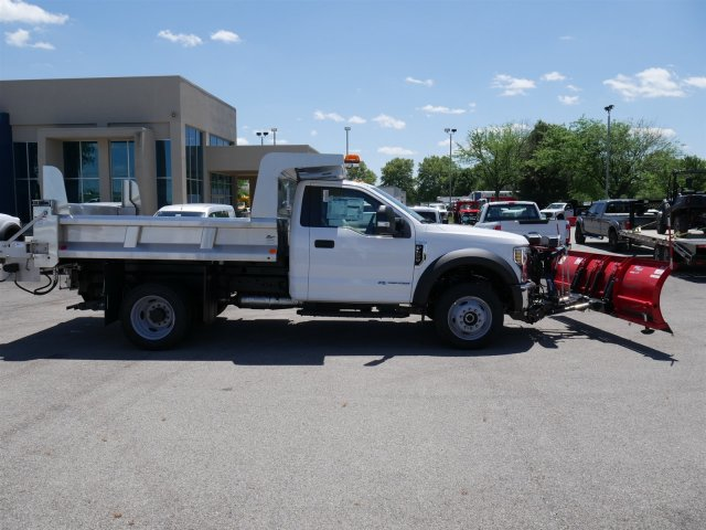2018 F-550 Regular Cab DRW 4x4,  Rugby Dump Body #FTJ3085 - photo 8