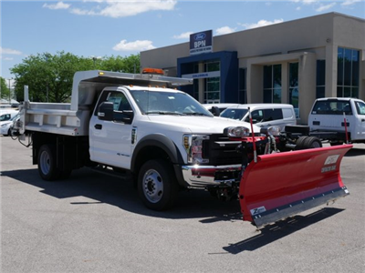 2018 F-550 Regular Cab DRW 4x4,  Rugby Z-Spec Dump Body #FTJ3085 - photo 3