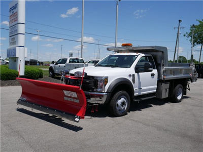 2018 F-550 Regular Cab DRW 4x4,  Rugby Z-Spec Dump Body #FTJ3085 - photo 1