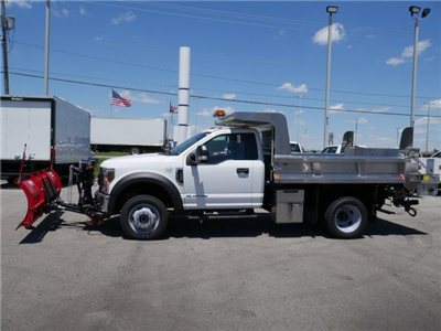 2018 F-550 Regular Cab DRW 4x4,  Rugby Z-Spec Dump Body #FTJ3085 - photo 5