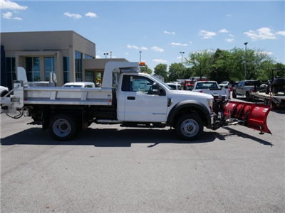 2018 F-550 Regular Cab DRW 4x4,  Rugby Z-Spec Dump Body #FTJ3085 - photo 8