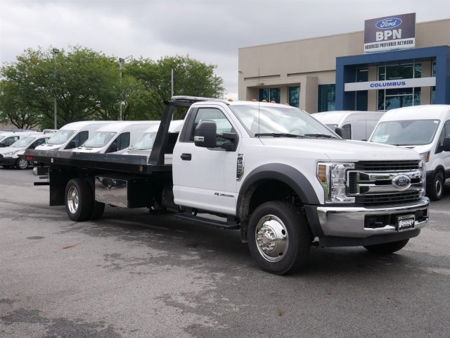 2018 F-550 Regular Cab DRW 4x2,  Kilar Fabrication Rollback Body #FTJ3146 - photo 3