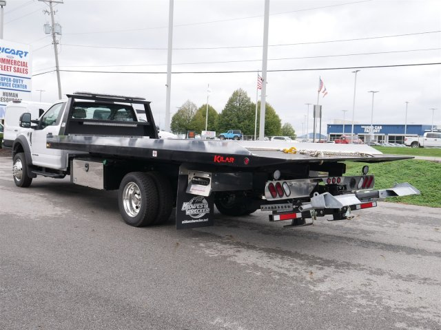 2018 F-550 Regular Cab DRW 4x2,  Kilar Fabrication Rollback Body #FTJ3146 - photo 2