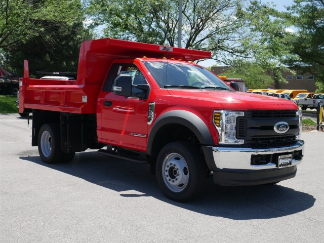 2018 F-550 Regular Cab DRW 4x4,  Rugby Dump Body #FTJ3487 - photo 3