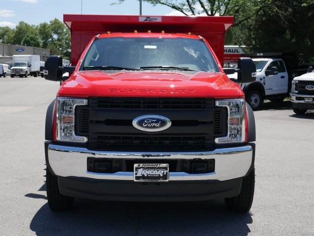 2018 F-550 Regular Cab DRW 4x4,  Rugby Dump Body #FTJ3487 - photo 4