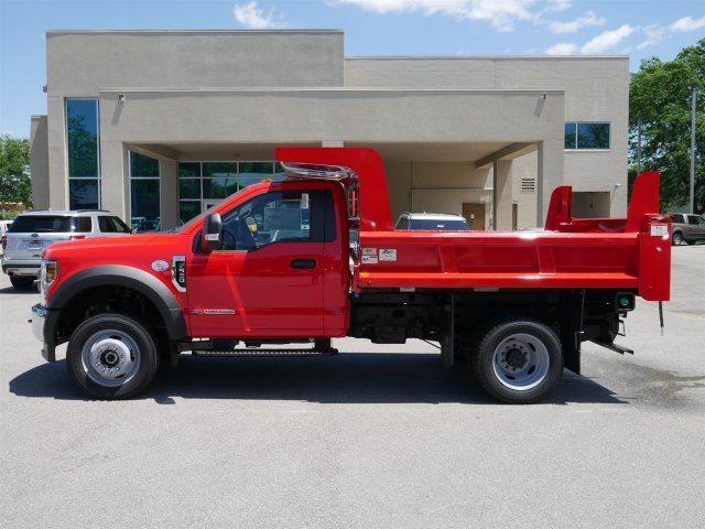 2018 F-550 Regular Cab DRW 4x4,  Rugby Dump Body #FTJ3487 - photo 5