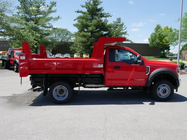 2018 F-550 Regular Cab DRW 4x4,  Rugby Dump Body #FTJ3487 - photo 8