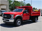 2018 F-550 Regular Cab DRW 4x4,  Rugby Dump Body #FTJ3487 - photo 1