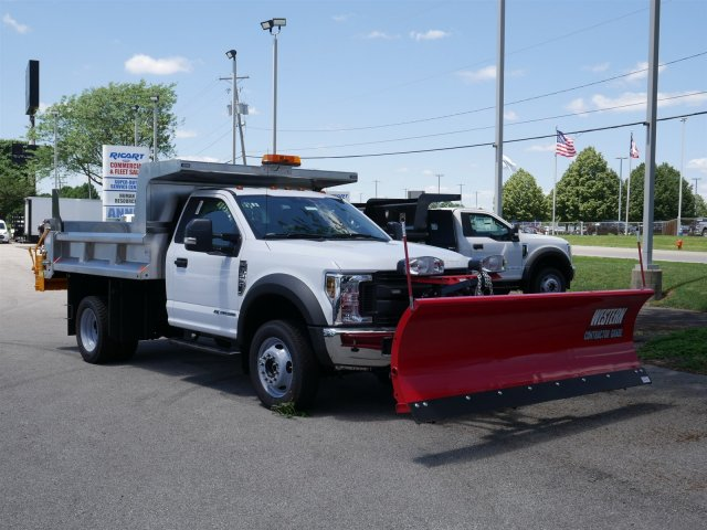 2018 F-550 Regular Cab DRW 4x4,  Rugby Dump Body #FTJ3488 - photo 3