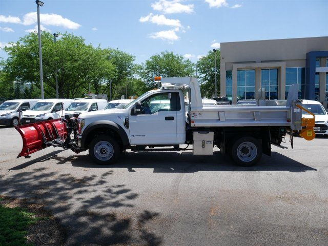 2018 F-550 Regular Cab DRW 4x4,  Rugby Dump Body #FTJ3488 - photo 5