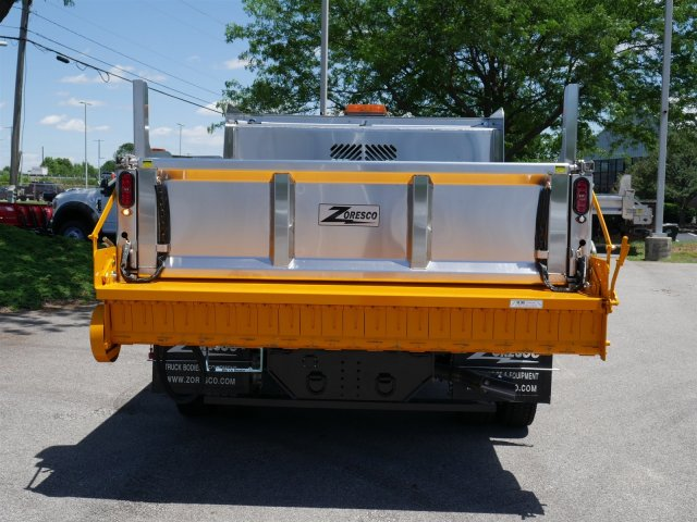 2018 F-550 Regular Cab DRW 4x4,  Rugby Dump Body #FTJ3488 - photo 6
