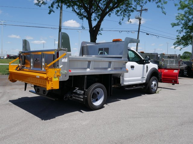 2018 F-550 Regular Cab DRW 4x4,  Rugby Dump Body #FTJ3488 - photo 7