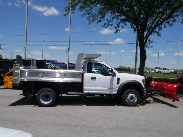 2018 F-550 Regular Cab DRW 4x4,  Rugby Dump Body #FTJ3488 - photo 8