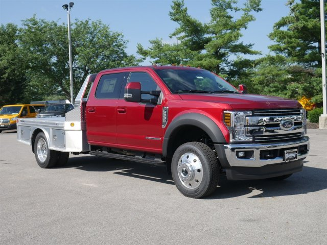 2018 F-550 Crew Cab DRW 4x4,  Hillsboro Platform Body #FTJ4137 - photo 3