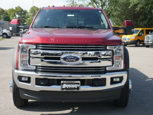 2018 F-550 Crew Cab DRW 4x4,  Hillsboro Platform Body #FTJ4137 - photo 4