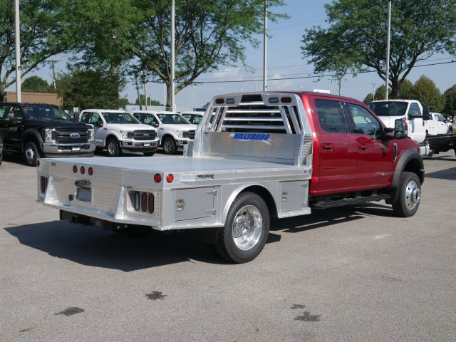 2018 F-550 Crew Cab DRW 4x4,  Hillsboro Platform Body #FTJ4137 - photo 7