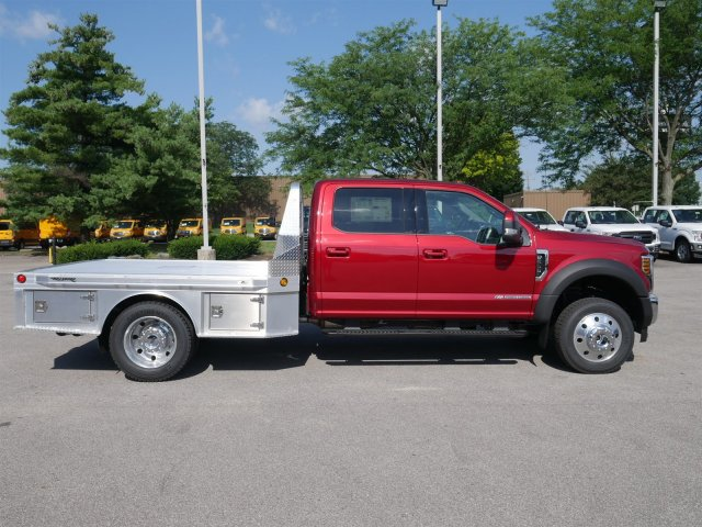 2018 F-550 Crew Cab DRW 4x4,  Hillsboro Platform Body #FTJ4137 - photo 8