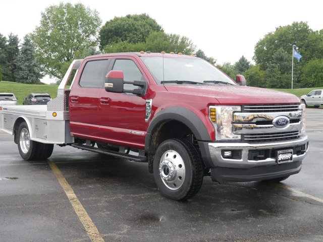 2019 F-550 Crew Cab DRW 4x4,  Hillsboro Platform Body #FTK1121 - photo 3