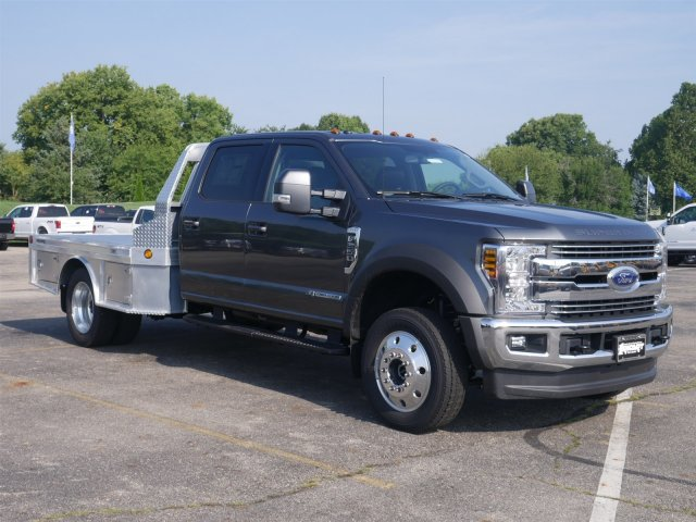 2019 F-550 Crew Cab DRW 4x4,  Hillsboro Platform Body #FTK1153 - photo 3