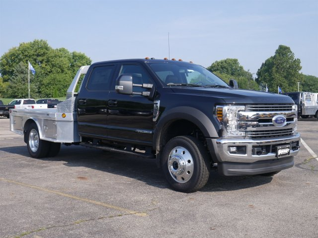 2019 F-550 Crew Cab DRW 4x4,  Hillsboro Platform Body #FTK1171 - photo 3