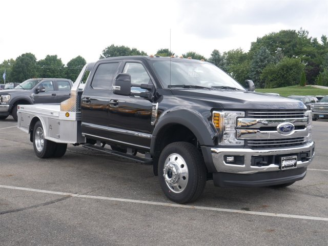 2019 F-550 Crew Cab DRW 4x4,  Hillsboro Platform Body #FTK1198 - photo 3