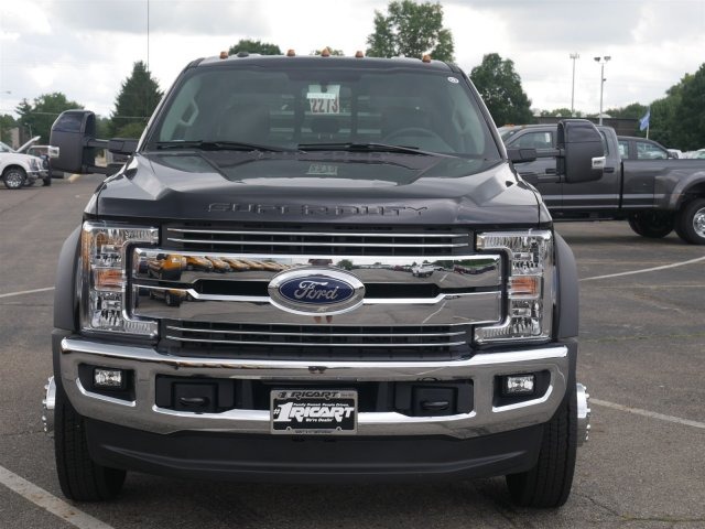 2019 F-550 Crew Cab DRW 4x4,  Hillsboro Platform Body #FTK1198 - photo 4