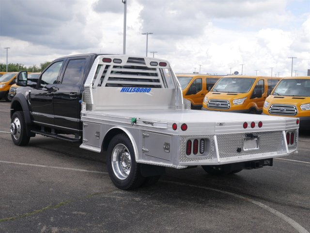 2019 F-550 Crew Cab DRW 4x4,  Hillsboro Platform Body #FTK1198 - photo 2