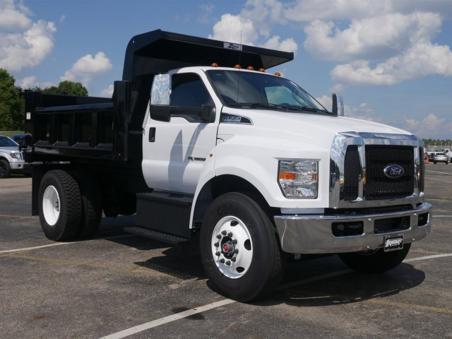 2019 F-750 Regular Cab DRW 4x2,  Rugby Dump Body #FTK1245 - photo 3