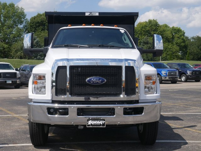 2019 F-750 Regular Cab DRW 4x2,  Rugby Dump Body #FTK1245 - photo 4