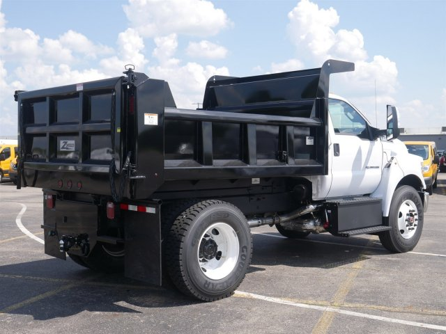 2019 F-750 Regular Cab DRW 4x2,  Rugby Dump Body #FTK1245 - photo 7