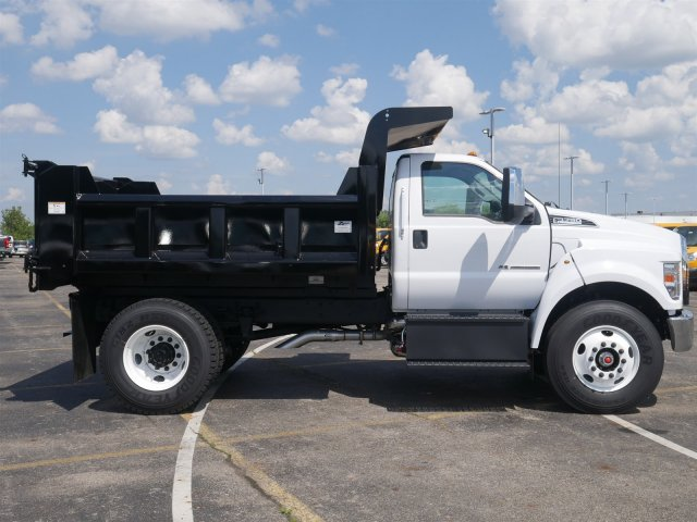 2019 F-750 Regular Cab DRW 4x2,  Rugby Dump Body #FTK1245 - photo 8