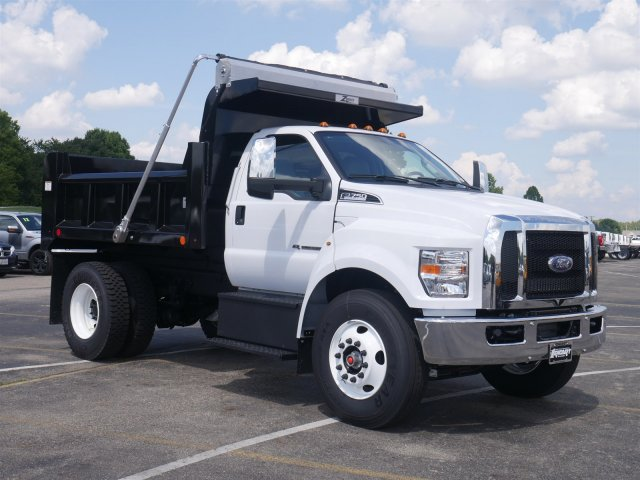 2019 F-750 Regular Cab DRW 4x2,  Rugby Dump Body #FTK1246 - photo 3
